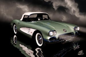 1960 Corvette by theCrow65