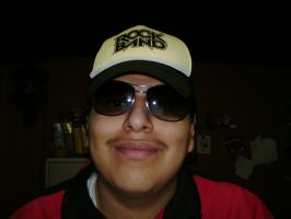 Me with sunglasses and basecap by Esteban1988