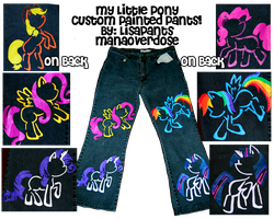 My Little Pony Pants by ManaOverdose
