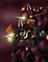 Red Corsairs by SDGRAPHICS