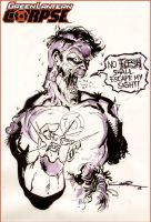 Green Lantern CORPSE by Cinar