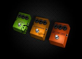 Pedals by zeroduck