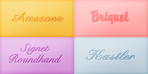 Font Pack 03 by Monikanarnia