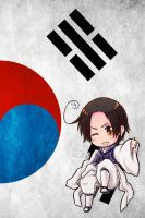 Hetalia iWallpapers - South Korea by Dreamweaver38