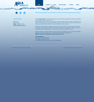 Aquaosmotic website by luqa