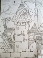 Dragoncastle by Carmabal