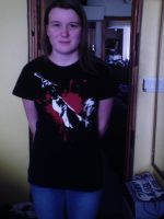 Me with Sweeney Shirt by AsherDemonSlayer
