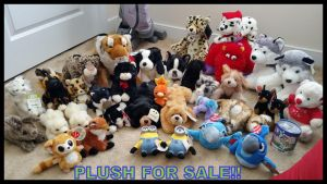 Plush For Sale!!!!! by Vesperwolfy87