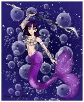 Mermaid Sailor Saturn by serenitysmoon