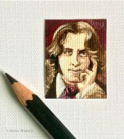 Minuscule Oscar Wilde by Paintsmudger