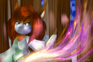 CG(2013): Flames in the coldness. by lifegiving
