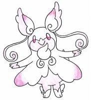 Mega audino by FrozenFeather
