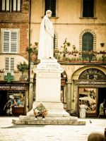 Lucca Statue Tuscany 2008 by slcrawford