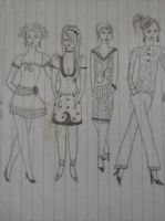 Ladies in fashion5 by andrea-gould