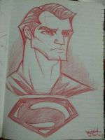 Supes Sketch by kehchoonwee