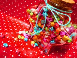 JAR full of wishes by lolita-candy-bear