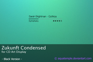 Zukunft Condensed I for CAD by AquaTemple
