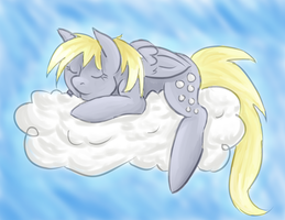 Derpy Hooves by Ikasama