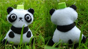Little Plushy Panda by Emmsii