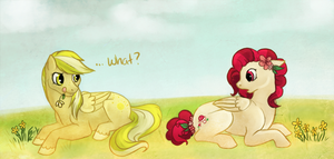 Sunny likes Flowers by Noxx-ious