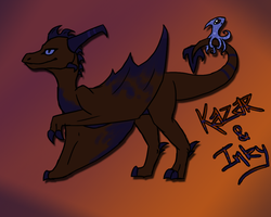 Kazar and Inky - REF by miaowstic