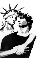 David and Liberty by Lizl