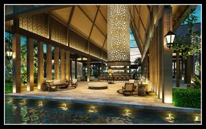 Lobby Pulau Tengah Resort by satriobajuhitam