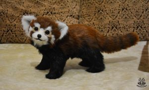 ETSY Commission baby red panda by MalinaToys