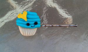 Loverly Blue Cup Cake Bobby by Gynecology