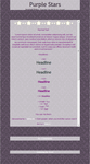 Purple Stars Journal CSS by TaNa-Jo