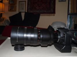 F4 300mm Orestegor lens by pagan-live-style