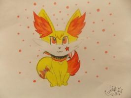.:Flare the Fennekin:. by SonicPokemonPrincess