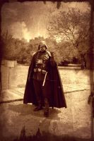 Steampunk Vader by onlycomeoutatnight