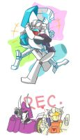 MTMTE: Minibots' Playtime by Evelynism