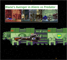 Blane's Avenger in Alien vs Predator by Darkblane257