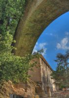 under the underpass-hdr by yoctox