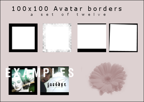100x100 borders by onlyalive8