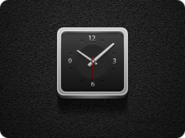 Clock - Jaku iOS Theme by iGeriya