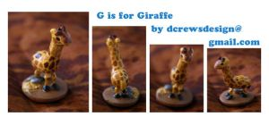 G is for Giraffe by Skyelark