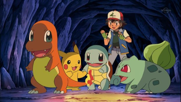 Pokemon Ash Ketchum - Cave in Kanto Remake HD 2013 by GT4tube