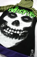 misfits stripe hoodie 7 by smarmy-clothes