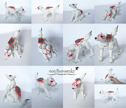 Amaterasu - Ball Jointed Doll by vonBorowsky