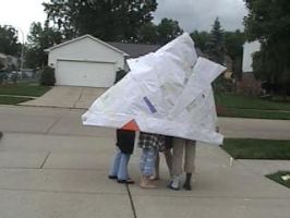 Giant Origami Hat by AidanFaolin