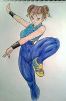 Chun Li by TicoDrawing