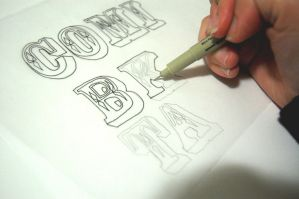 Hand Lettering. by manfishinc