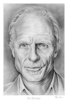 Ed Harris by gregchapin