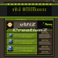 Merchendise Template by vViZ