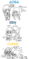 What if DMMD characters were real and meet me by P-ChanAndP-Kun
