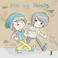 BISS FRANDS FO LYF by theamazingwrabbit