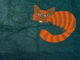 Chesshire cat by Ajdica